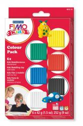 STAEDTLER FIMO FORM & PLAY BAS 6-SET