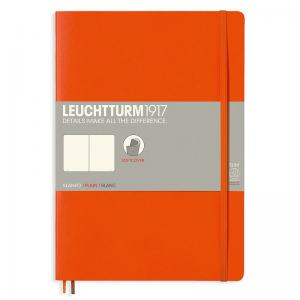 LEUCHTTURM B5 OLINJERAD, ORANGE