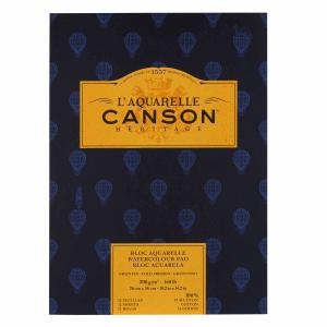 CANSON HÉRITAGE AKVARELLBLOCK, CP 23X31CM