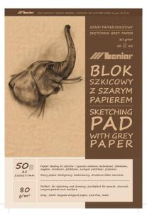 BLOCK KVISTPAPPER 80 GRAM