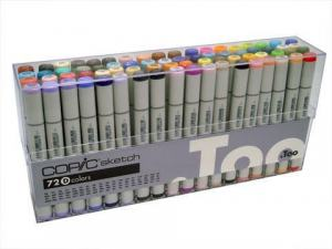 COPIC SKETCH 72-SET D