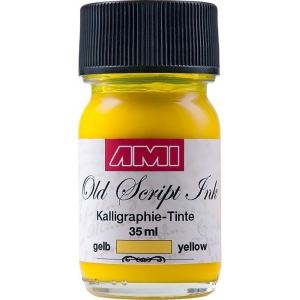 OLD SCRIPT INK 35 ML GUL