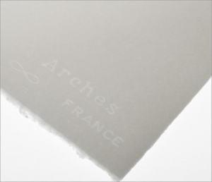 AKVARELLPAPPER ARCHES 300G 56X76CM, GROV GRÄNG