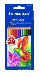 STAEDTLER NORIS CLUB TREKANTFÄRGPENNOR 12-SET