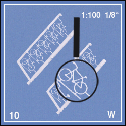 MODELLFIGURER CYKLAR 5ST 1:100