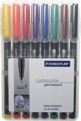 STAEDTLER LUMOCOLOR 318 FINE 0,6MM 8-SET