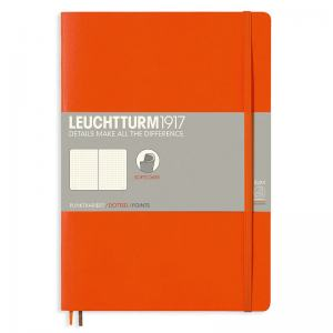LEUCHTTURM B5 PRICKAD ORANGE