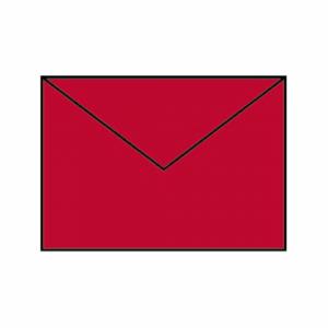 PAPERADO KUVERT B6 RED