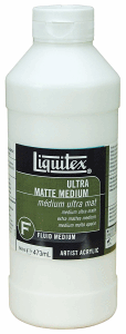 LIQUITEX ULTRA MATTE MEDIUM 473 ML