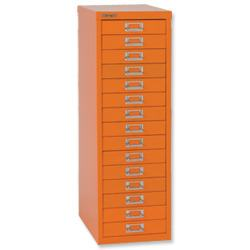BISLEY 15 LÅDOR ORANGE (LIGHT RED ORANGE)