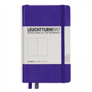 LEUCHTTURM POCKET OLINJERAD, PURPLE