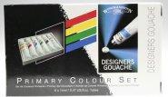 WINSOR & NEWTON DESIGNERS GOUACHE PRIMARY 6-SET
