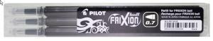 PILOT FRIXION REFILL SVART