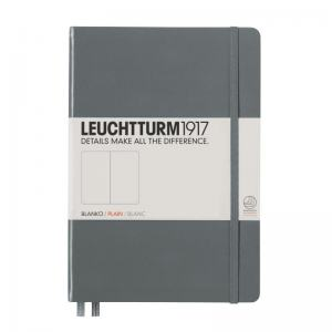 LEUCHTTURM MEDIUM OLINJERAD, ANTHRACITE