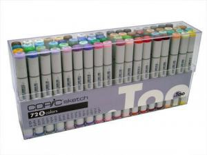 COPIC SKETCH 72-SET B