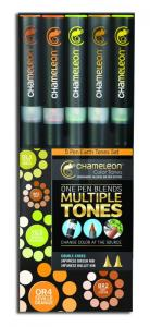 CHAMELEON MARKER 5-SET EARTH TONES