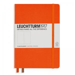 LEUCHTTURM MEDIUM PRICKAD, ORANGE