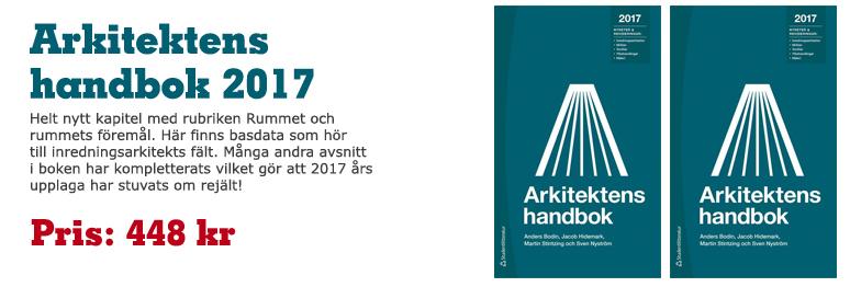Arkitektens handbok 2017 - i lager!
