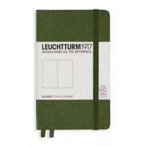 LEUCHTTURM POCKET OLINJERAD, ARMY GREEN
