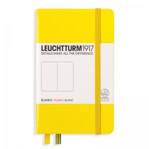 LEUCHTTURM POCKET OLINJERAD, LEMON