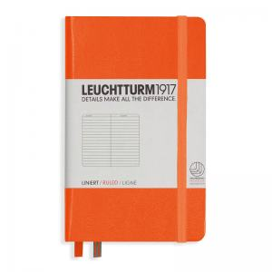 LEUCHTTURM POCKET LINJERAD, ORANGE