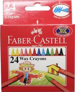 VAXKRITA FABER CASTELL 24-SET
