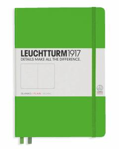 LEUCHTTURM MEDIUM BLANK, FRESH GREEN