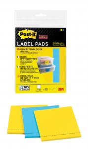 ETIKETTER POST-IT 73X73MM