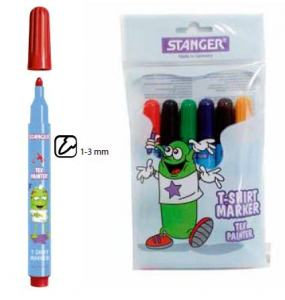STANGER T-SHIRTMARKER 6-SET