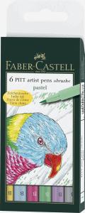 FABER-CASTELL PITT ARTIST BRUSHPEN, PASTELL