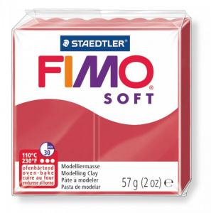 FIMO MODELLERA CHERRY RED