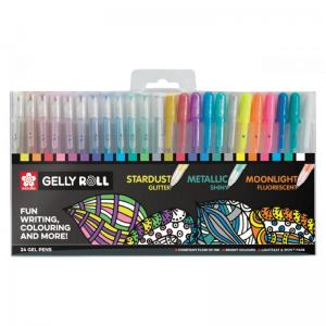GELLY ROLL MIXED 24-SET