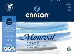 CANSON AKVARELLBLOCK MONTVAL 300GRAM