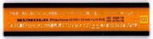 TEXTMALL ISONORM 3,5MM KURSIV