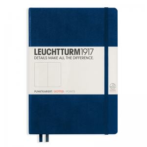 LEUCHTTURM MEDIUM PRICKAD, NAVY
