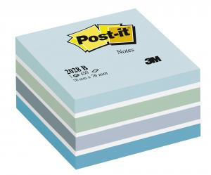 POST-IT KUB 76X76MM, FRESH BLUE