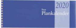 STOR PLANKALENDER 2020, SPIRAL, BURDE