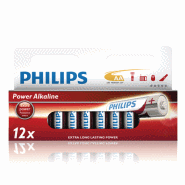 BATTERI PHILIPS AA 12-PACK