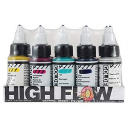 GOLDEN HIGHFLOW 30ML 10-SET HIGH FLOW DRAWING SET