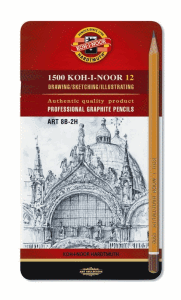 KOHINOOR BLYERTSPENNOR 12-SET