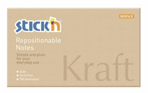 NOTES KRAFTBLOCK, 76X127MM