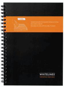WHITELINES CLASSIC A5 SPIRALBLOCK