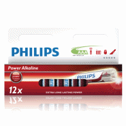 BATTERI PHILIPS AAA 12-PACK