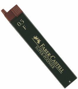 FABER CASTELL BLYERTSSTIFT 0,5MM, F
