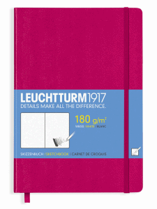 LEUCHTTURM SKETCH MEDIUM, BERRY