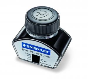 STAEDTLER PREMIUM LINE INK BOTTLE BLACK