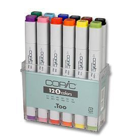 COPIC MARKER 12-SET BASIC