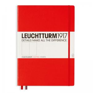 LEUCHTTURM MASTER PRICKAD, RED