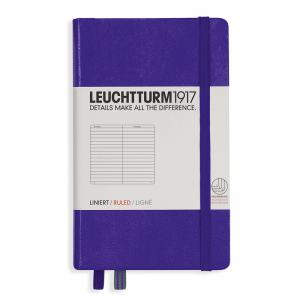 LEUCHTTURM POCKET LINJERAD, PURPLE