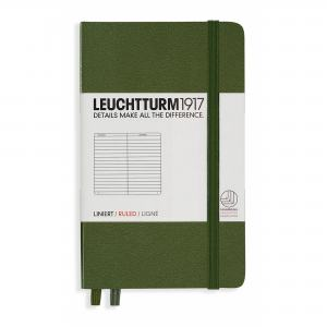 LEUCHTTURM POCKET LINJERAD, ARMY GREEN